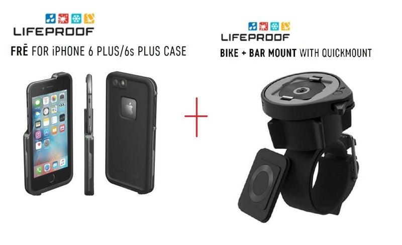 new product f6c16 cd39d Apple iPhone 6S Plus LifeProof Fre Case Bike Mount