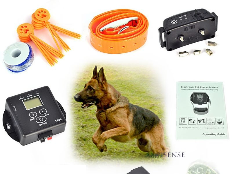 Rechargeable Waterproof Dog Training Fence System In-Ground Containment  System