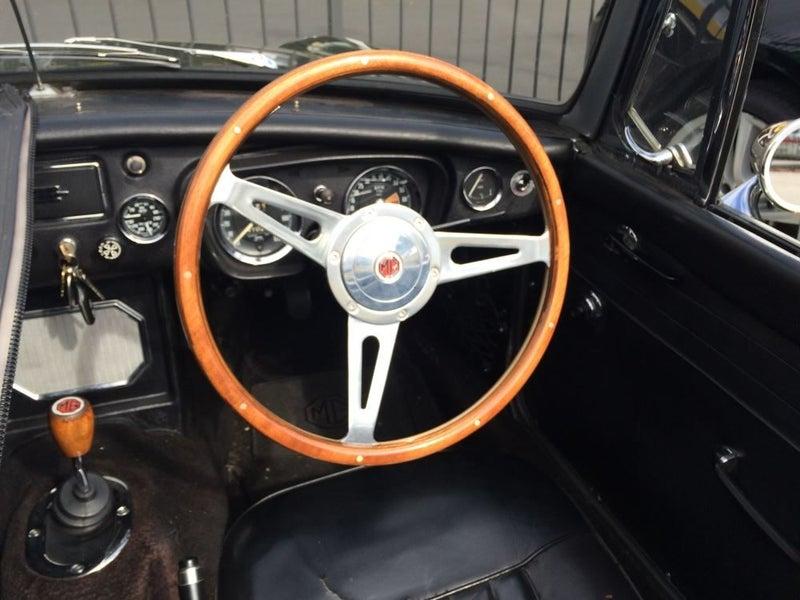 Classic Jaguar Wooden Steering Wheel And Boss Trade Me