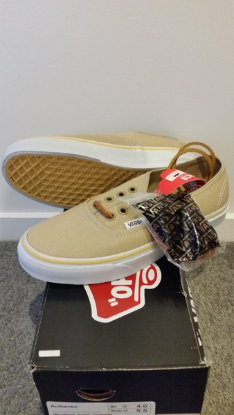 88128baffd Vans Authentic Brushed Twill Unisex Shoes - New