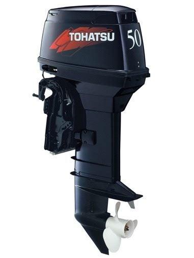 New Tohatsu 50hp 2 stroke Tiller Outboard | Trade Me