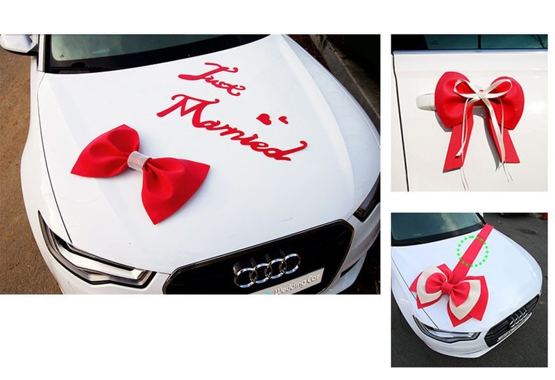 Car wedding decoration trade me click to enlarge photo junglespirit Image collections