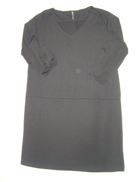 Womens Garage black dress or long top size 18