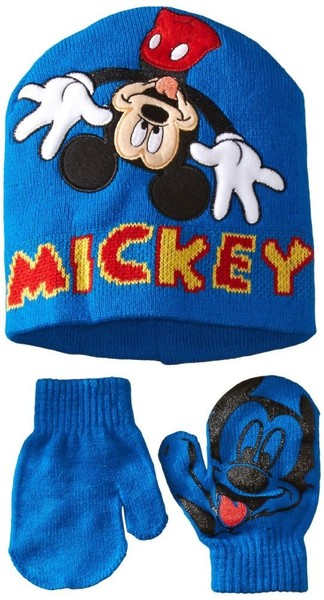 534c20892e3f8 Disney Boys Mickey Mouse Hat and Glove Set   Trade Me