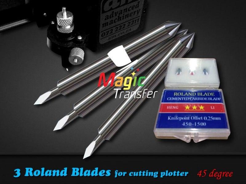 Signage -3 Roland cutting plotter blades