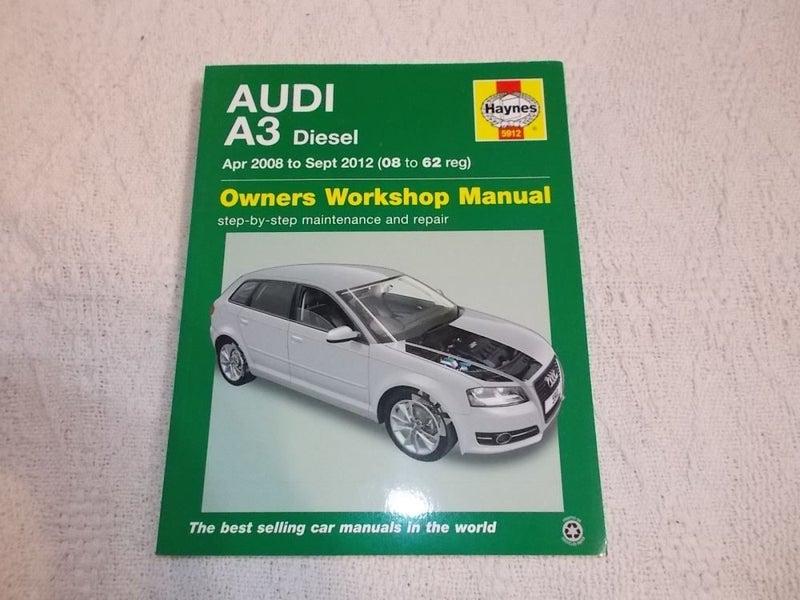 Anleitungen & Handbcher Audi A3 Haynes Manual Repair Manual ...