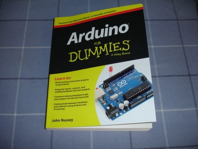 Arduino for dummies by john nussey trade me