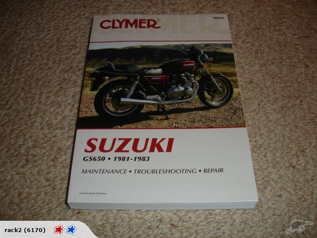 Suzuki GS650 1981-1983 Clymer Manual | Trade Me