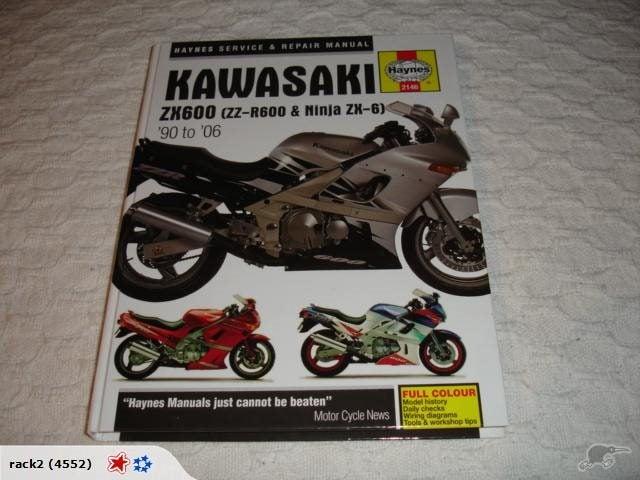 Outstanding Kawasaki Zx600 Zz R600 Ninja Zx 6 90 06 Hayn Trade Me Wiring 101 Cranwise Assnl