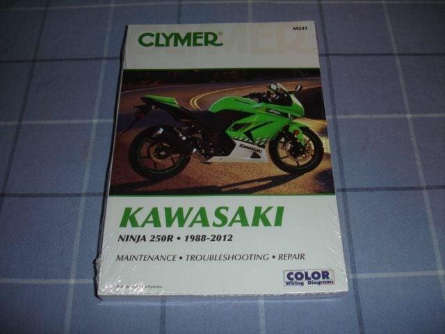 Kawasaki Ninja 250R(EX250) 1988-2012 Clymer Manual   Trade Me on