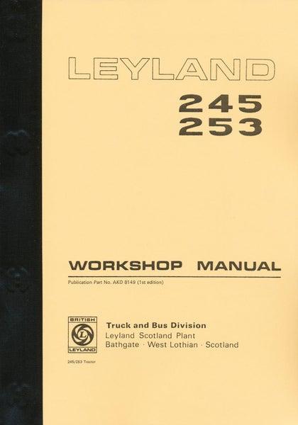 leyland 245 leyland 253 workshop manual trade me rh trademe co nz leyland 245 tractor workshop manual Leyland Engine