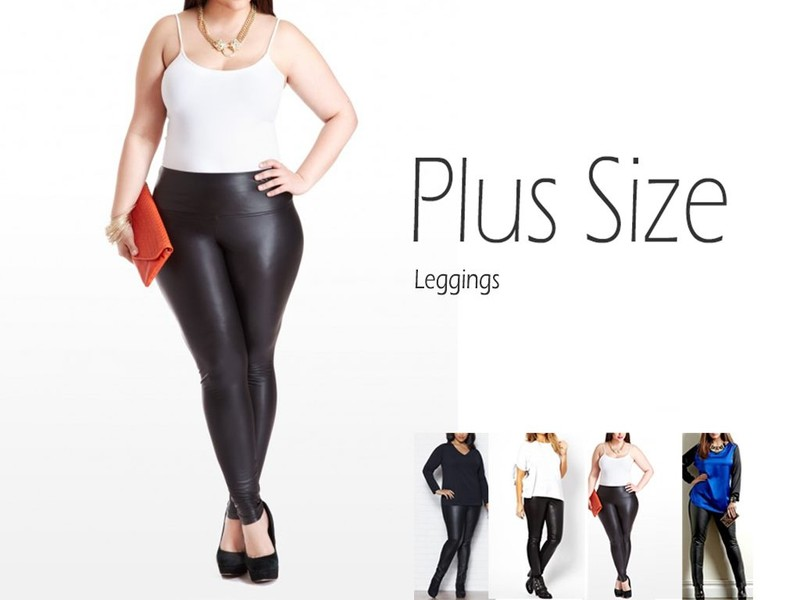 5f35630352ecbb Plus Size Leather Looking Leggings 3XL – 5XL | Trade Me
