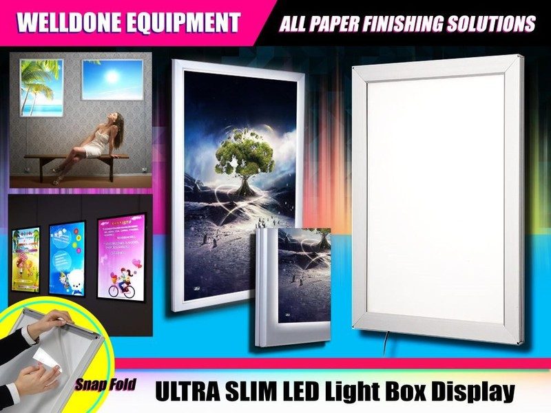 Ultra Slim Led Light Box Display Was 549 On