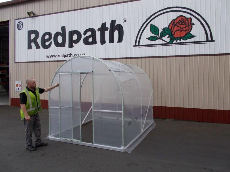 2 36 x 3m Redpath Greenhouse