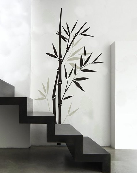 Wall Stickerswall Decal Bamboo Wall Decal Bedroom Living Room Nursery Wall Art