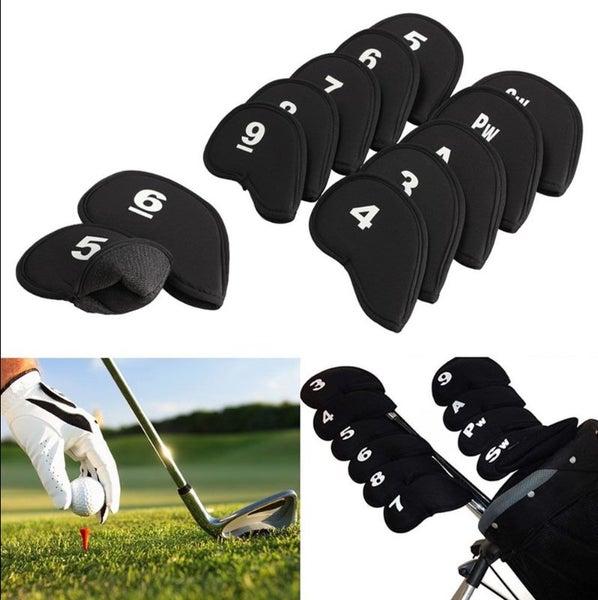 bdec001ac8c 2 Sets of Golf Club Iron Head Covers Protectors