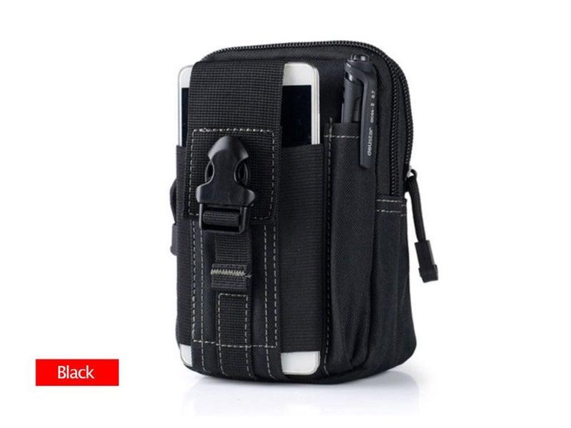 Outdoor Sport Molle Waist Pack Utility Fanny Phone Pouch Belt Bag Running Hiking