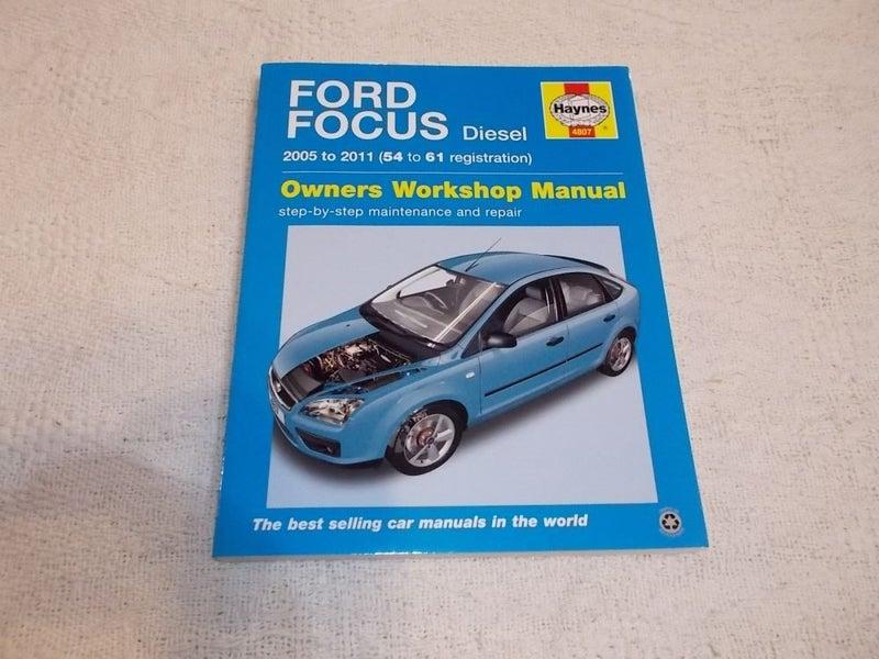 ford focus manuals