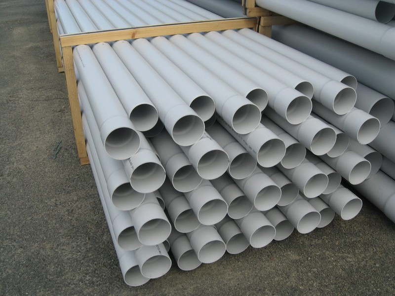 100mm PVC Stormwater/ Drainage Pipe - 6m Length