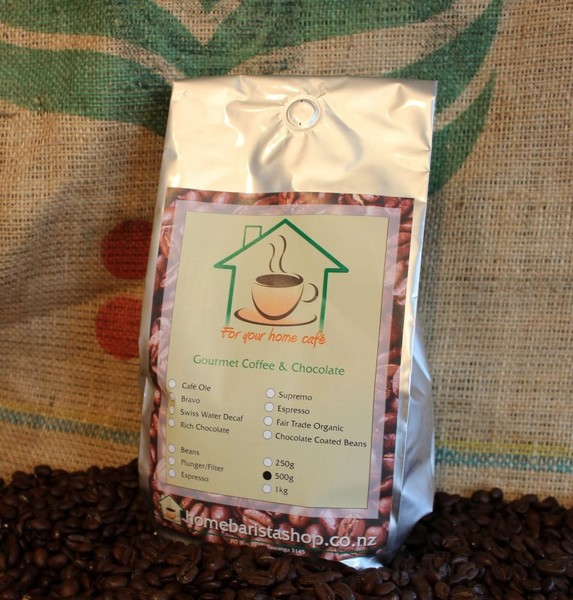 500g Roasted Decaf Coffee Beans