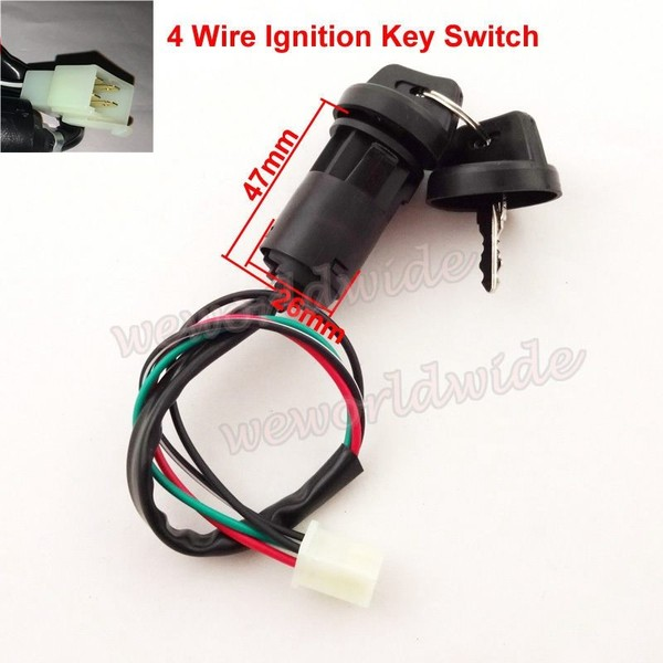 Ignition Key Switch for Quad & Dirt Bike - SC34 | Trade Me