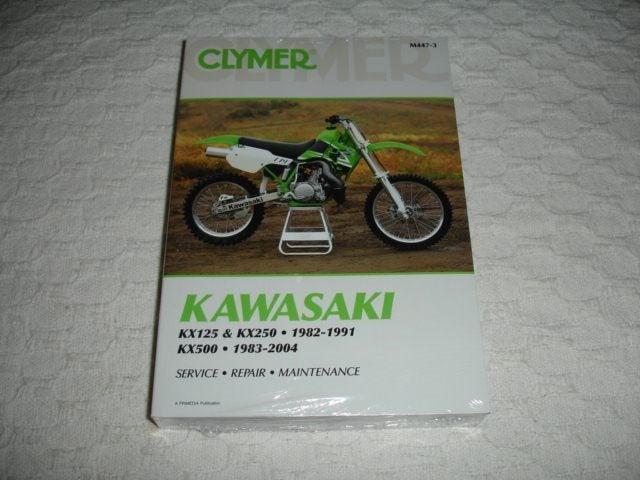 Kawasaki KX125 & KX250 82-91 KX500 83-04 Manual | Trade Me on