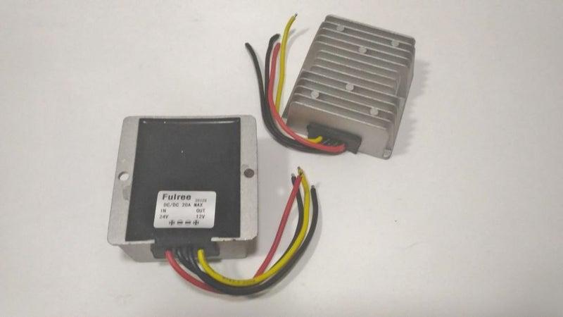 DC DC Converter 24v to 12v 20A Voltage Regulator