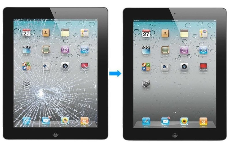 iPad air Screen REPLACEMENT+ Fitting
