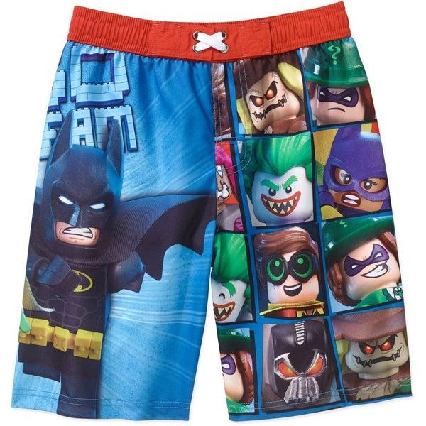 77631df273 LEGO Batman Movie Boys' Swim Shorts Official License | Trade Me