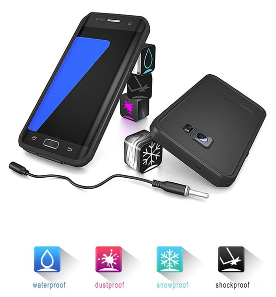low priced 73ccb eaabd RedPepper Genuine Waterproof Shockproof Samsung Galaxy S7 Edge Case