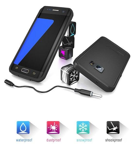 low priced 5b0fe ba746 RedPepper Genuine Waterproof Shockproof Samsung Galaxy S7 Edge Case
