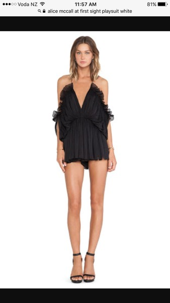 61087e0397 Alice McCall At First Sight playsuit brand new