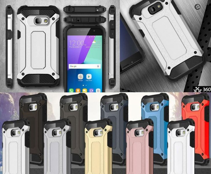 finest selection ccbff 8f0a4 Galaxy A5 2017 Case Armor Rugged Heavy Duty Holster Case