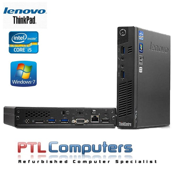 ThinkCentre M92p Tiny i5 2 9Ghz 8GB New 240GB SSD Windows 10 Professional  WIFI