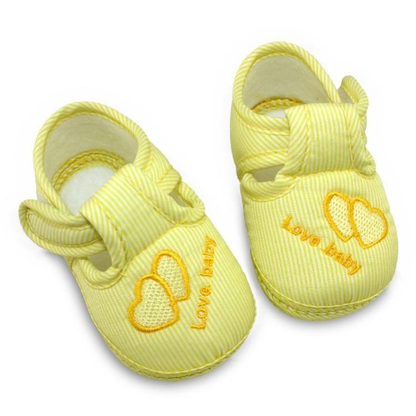 9d9f7b024 Yellow Soft Soled Baby Shoes 6-9 Months