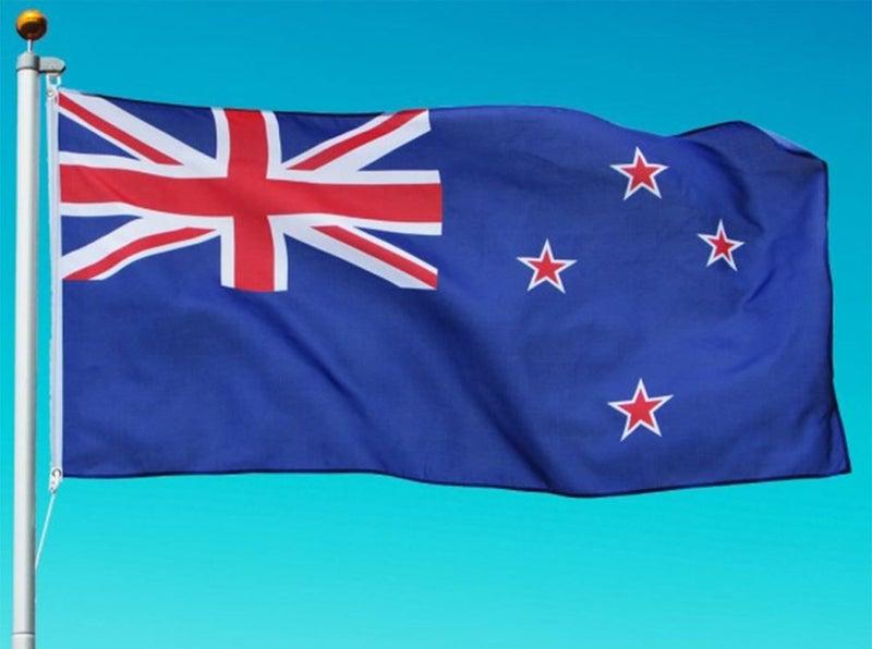 NZ Flag - Premium Quality - 1 8x0 9m Standard New Zealand Flags