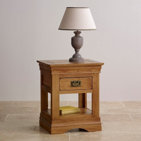 French rustic oak lamp tablewoods furniture trade me click to enlarge photo aloadofball Images