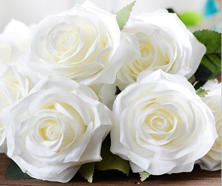 Roses For Sale Near Me >> Real Touch 10 Heads French Rose Artificial Flowers Hot Sale