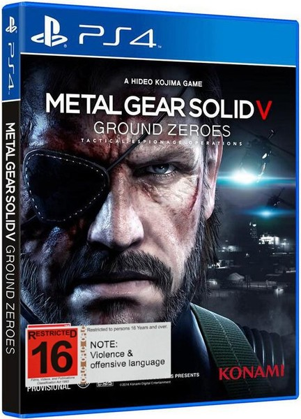 Metal Gear Solid V Ground Zeroes (PS4) *Sale* BRAND NEW