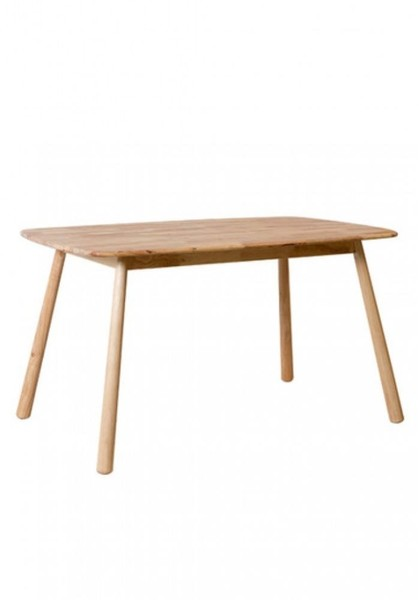 Solid Timber Dining Table 2 Sizes L135cm And L150cm Hester