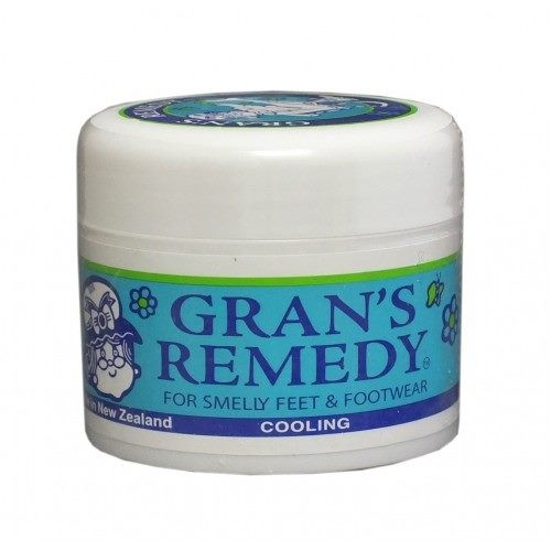 =CHEAP= Grans Remedy 'Cooling' Foot Powder 50gm (GREEN)