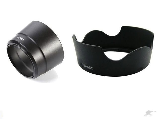 Hood for Canon 700D twin kit lens Compatible