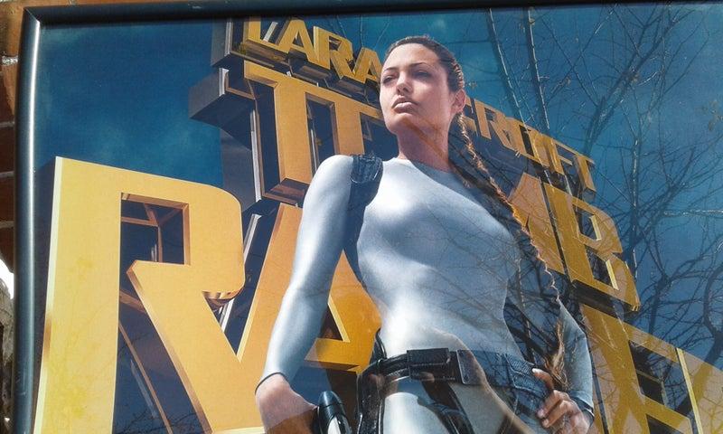 Lara Croft Tomb Raider Original Poster Trade Me