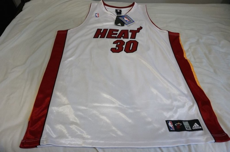 premium selection 478eb d4d41 New Michael Beasley Nba Miami Heat White Authentic Jersey XXL 3XL