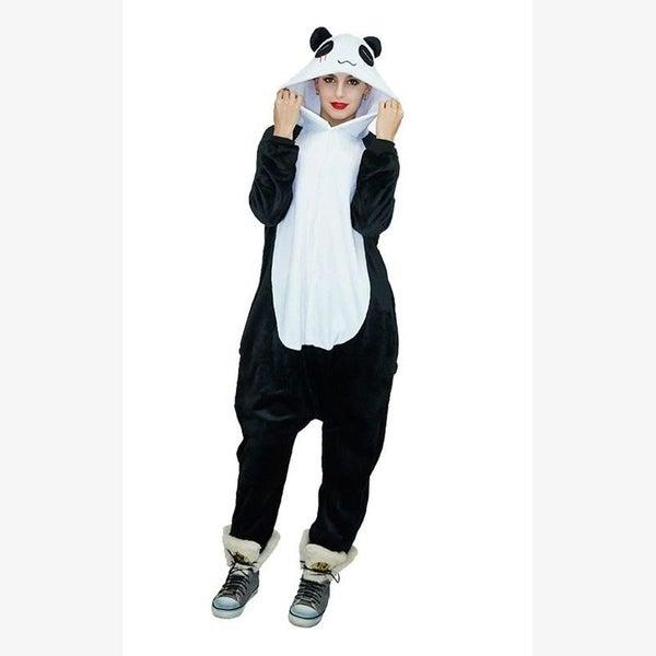 251fccb02522 Panda Onesie Pajama Costume