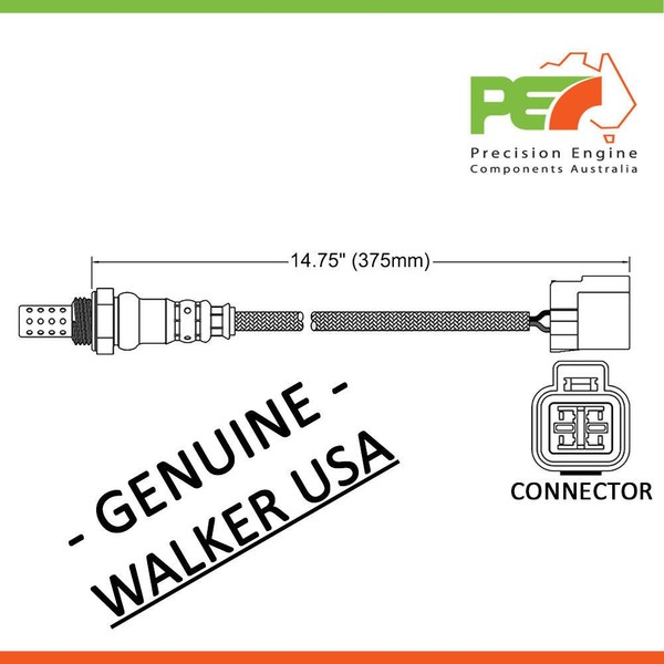 walker usa * oxygen sensor o2 for hyundai i 30 lavita tiburon tucson
