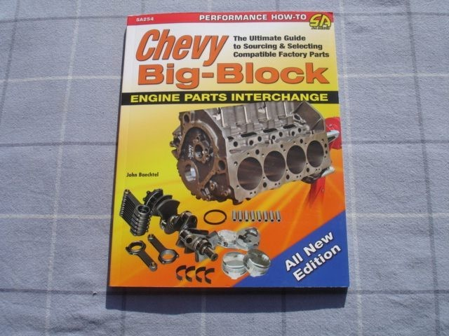 Chevy Big Block Engine Parts Interchange by John B | Trade Me
