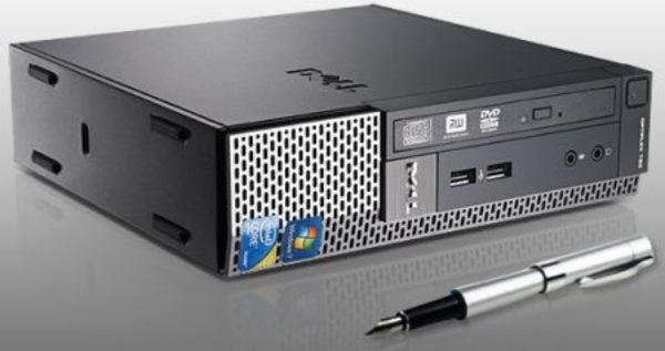Dell TINY PC Optiplex780 4GB 160GB DVD Ultrasmall Windows 7