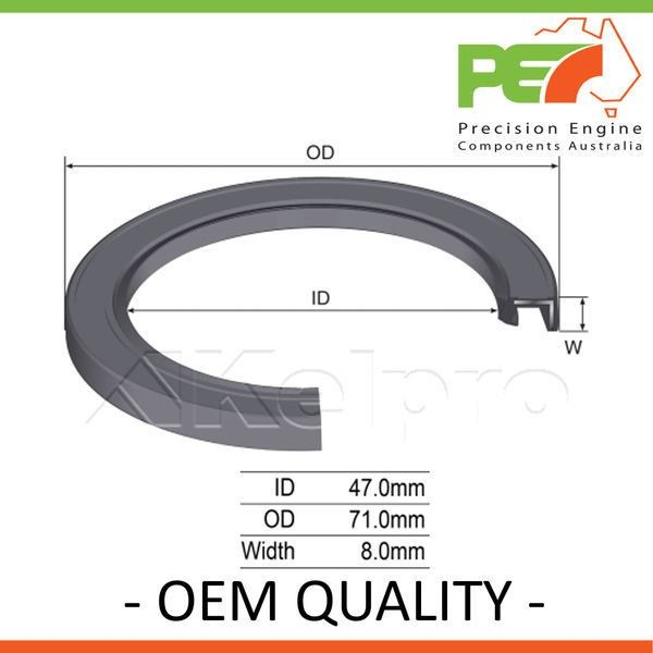 OEM QUALITY Oil Seal Front Input Transfer Case For Nissan Pathfinder