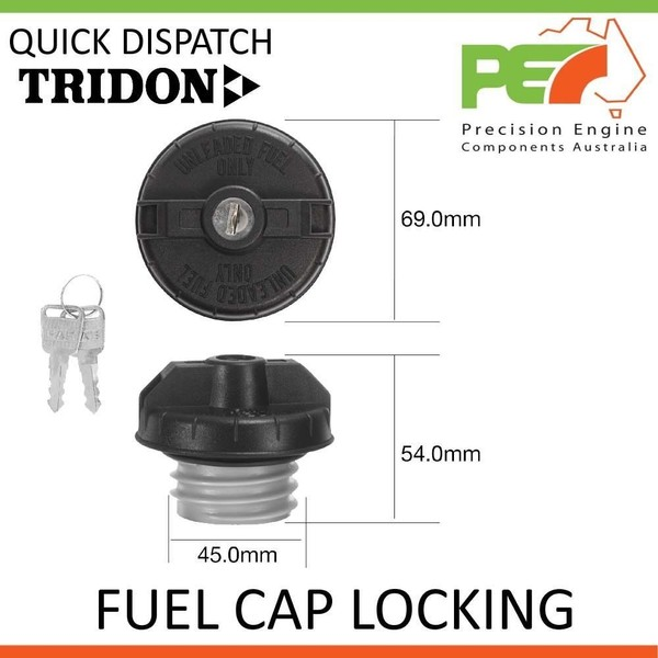 SDX 11//02-11//06 2.6L G6E TRIDON FUEL CAP NON LOCKING FOR Mazda B2600 DX